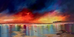Vibrant Sunset Skies II by Philip Gray -  sized 48x24 inches. Available from Whitewall Galleries